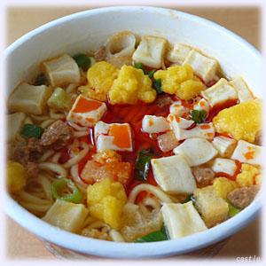豆腐チゲラーメン