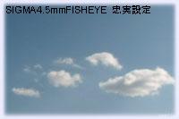 SIGMA4.5mm忠実設定
