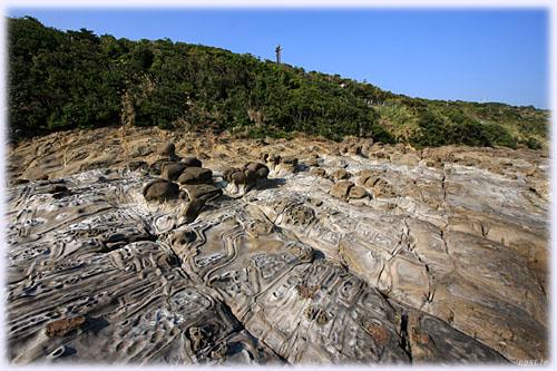 宮崎の不思議な海岸