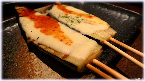 茄子チーズ