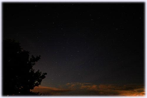 北海道の星空