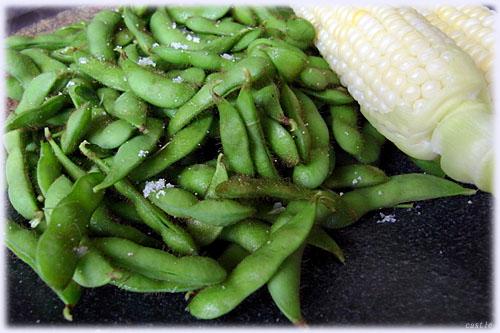枝豆とトウキビ