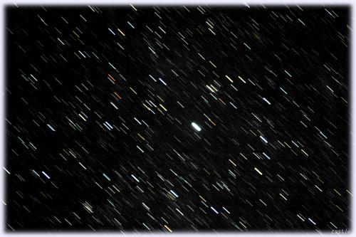 天の川付近の星空