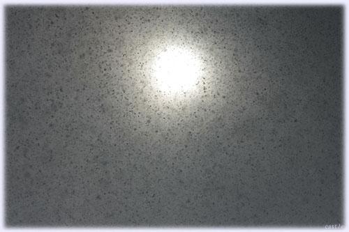 雪にかすむ太陽