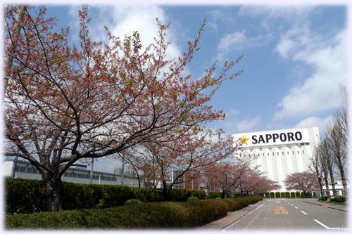 サッポロビール工場@JR名取駅前