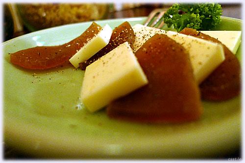 奈良漬&チーズ