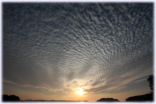 ウロコ雲?