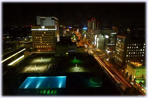 新横浜の夜景