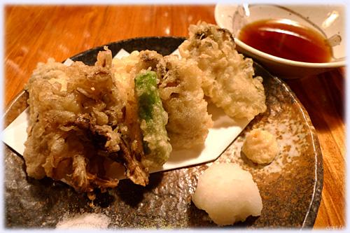 牡蠣天麩羅