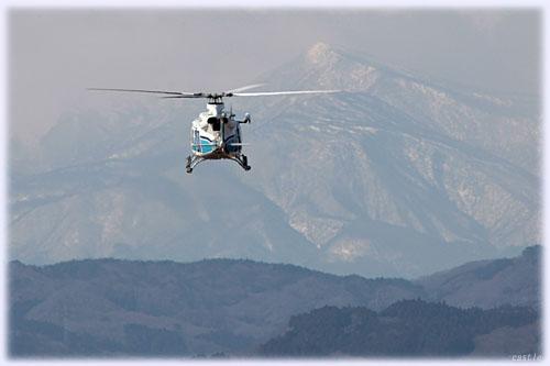 海上保安庁のヘリ