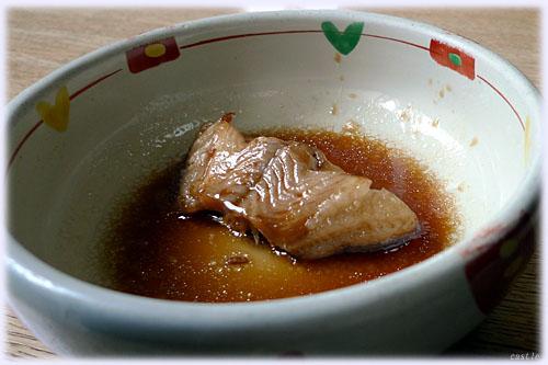 柳鰈の煮付け