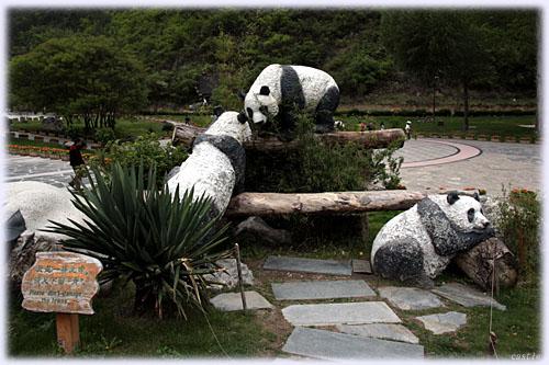 九寨溝(パンダ)