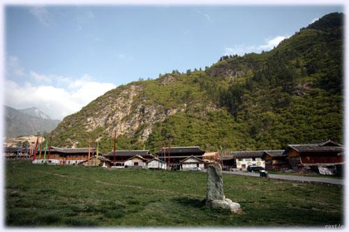 チベット族の村