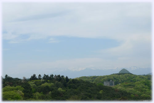 太白山と蔵王