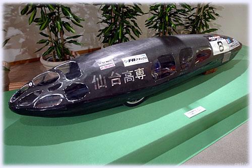 仙台高専のソーラーカー