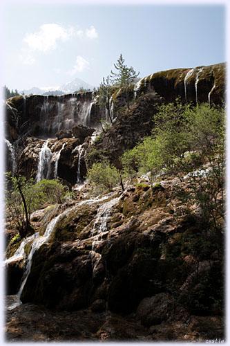 九寨溝の滝