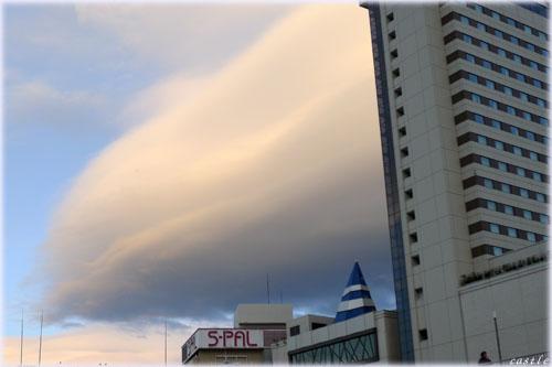 レンズ雲?