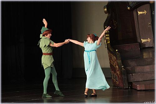 ピーターパンとウェンディのダンス