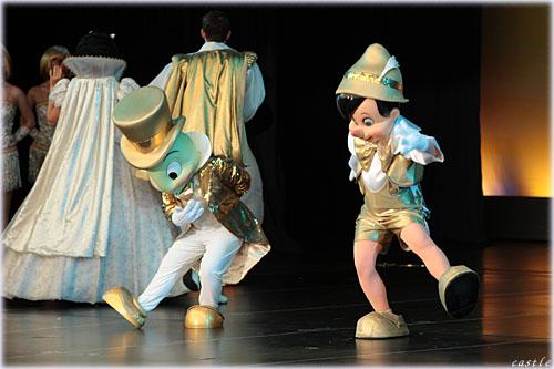 ジミニークリケットとピノキオ