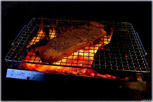炭火焼ステーキ