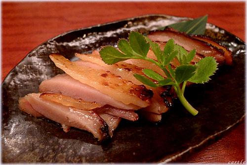 甲州地鶏の味噌漬け