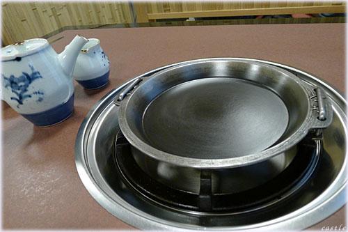 ピカピカのすき焼き鍋