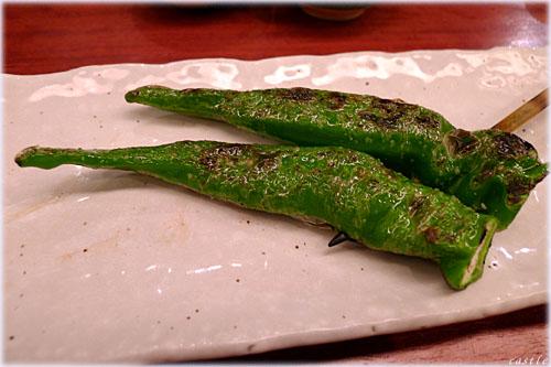 シシトウ焼き