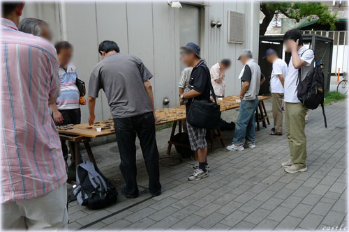 街角将棋@新橋駅前