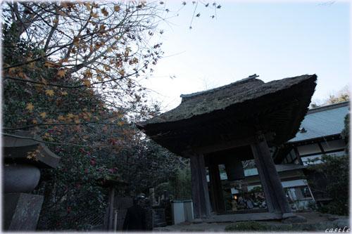 報国寺の鐘楼