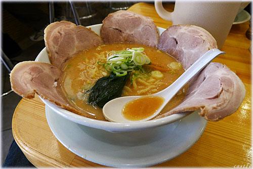 みそ壱のチャーシュー麺