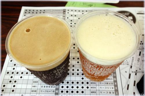いわて蔵ビール「オイスタースタウト」と「IPA(インディアンペールエール)」