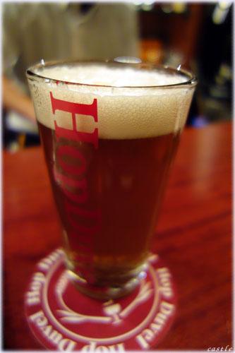 ホップデュベルでビール