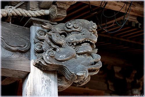 遠刈田の神社