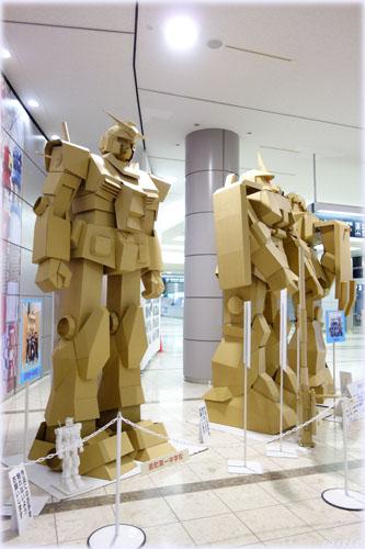 ガンダム@仙台空港