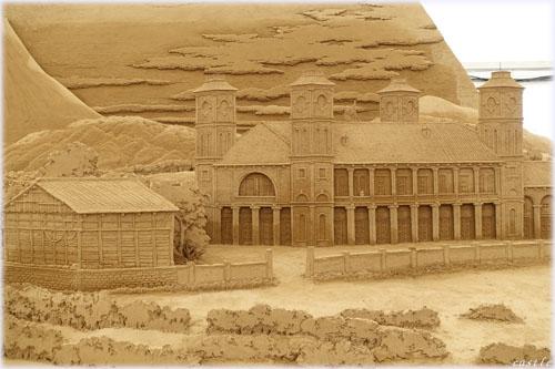 砂の彫刻展