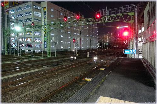 仙台駅1番ホーム