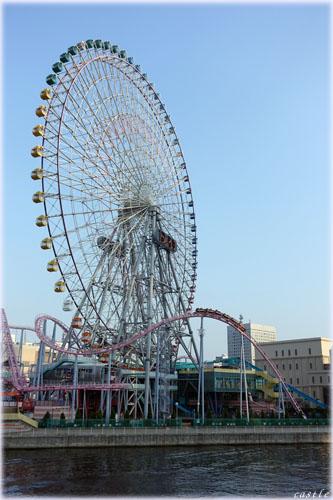 MM21地区の遊園地