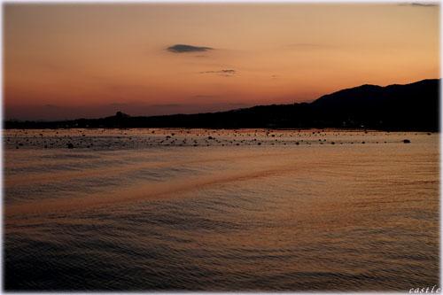 気仙沼の夕暮れ