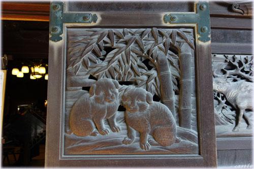 柴又帝釈天の彫刻