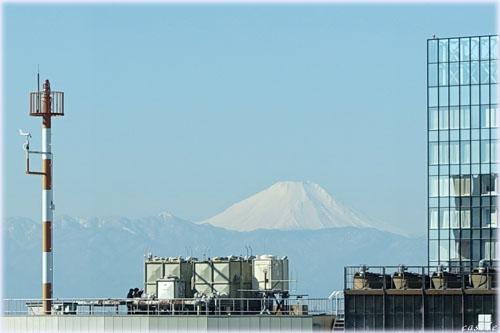 新宿から富士山