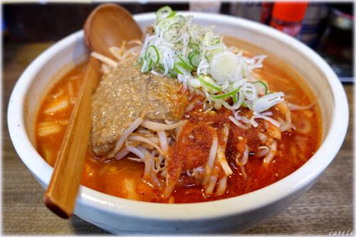 酢〜ラーキムチ納豆ラーメン