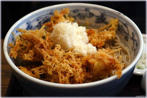桜海老かき揚げ蕎麦