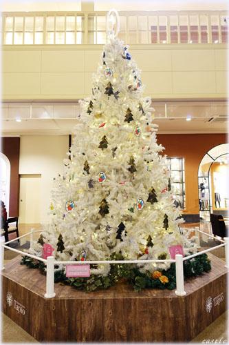 タピオのクリスマスツリー。