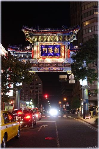 東:朝陽門(チョウヨウモン)