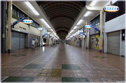 宇和島のアーケード街