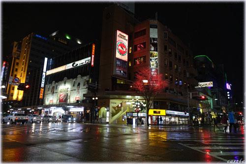 片町スクランブル交差点