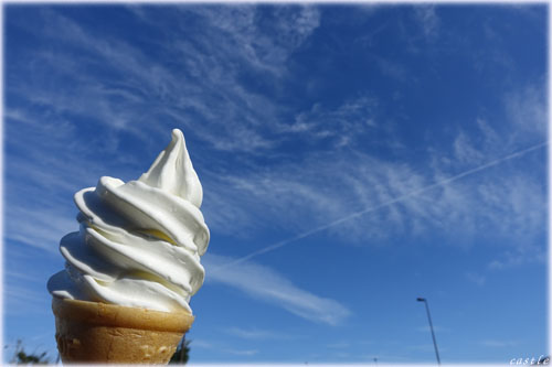 ROYCE'のソフトクリーム