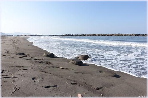 直江津の海岸