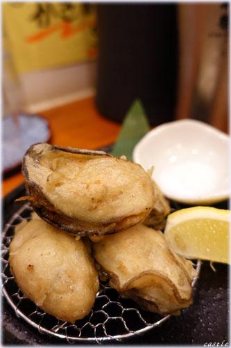 牡蠣の天麩羅