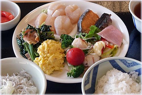 朝食@紋別セントラルホテル